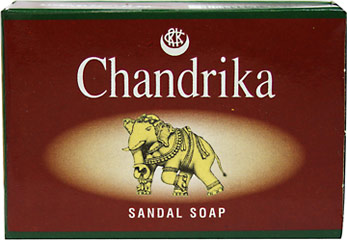 Chandrika Sandal Soap  75 g Bar  $1.79