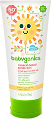 Cover-Up Baby™ Face & Body Sunscreen <p><b>From the Manufacturer:</b></p><p>Broad Spectrum SPF 50+</p><p>UVA/UVB Protection</p><p>Moisturizes & protects</p><p>Mineral based Formula</p><p>Hypoallergenic</p><p>Fragrance Free</p><p>Water esistant (80 minutes)</p><p>No Paba, parabens, sulfates, phthalates, nano-particles or retinyl palmitate</p>  2 oz Lotion  $3.79