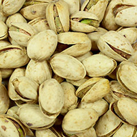 Jalapeno Pistachios <p>Jalapeno Flavored Pistachios are roasted with a unique flavor of spicy jalapeno. Makes for delicious snack!</p> 8 oz Bag  $11.99