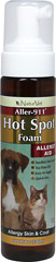 Aller-911 Hot Spot Foam <b>From the Manufacturer's Label:</B> <P>Helps to quickly relieve itchy or irritated skin.  Easy to apply and quick-dry.</P>  8 oz Liquid  $12.99