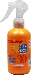 Sun Spray Lotion Sunscreen SPF 30  8 fl oz Lotion  $10.99