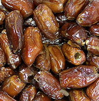 All Natural Pitted Dates  12 oz Container  $10.99