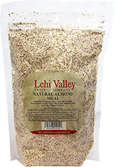 Natural Almond Meal <strong></strong><p>Almond meal can be used to make a wide array of fancy, elegant pastry crusts, cakes and cookies. The perfect ingredient for all of your baking needs. </p> 16 oz Bag  $8.99