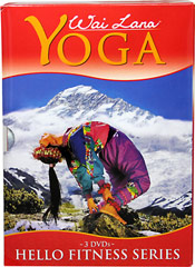 Hello Fitness Series Yoga DVDs <strong></strong><p><strong>From the manufacturer:</strong></p><p>Wai Lana's Hello Fitness DVD Tripack includes 3 great workout DVDs to help you improve your overall fitness level through mind, body & spirit. <strong></strong></p><p><strong>Comes with 3 full length DVDs: </strong></p><p>• Wake Up Body DVD</p><p>• Invigorating DVD</p><p>• Goo