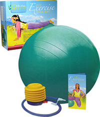 Eco Yoga Exercise Ball Kit with Poster <strong></strong><p><strong>From the Manufacturer:</strong></p><p>Stretch, strengthen, and sculpt your entire body with our planet and health-friendly Exercise Ball kit. </p><p></p><p>• Firm and tone your body </p><p></p><p>• Define your abs and waistline</p><p></p><p>• Release pent-up stress and tension </p><p></p><p>• I