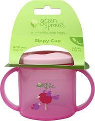 Sippy Cup Pink <p><b>From the manufacturer:</b></p><p>3 to 12 months</p><p>BPA Free</p><p>Flip up Spout</p><p>Easy-grip handles</p>  1 Each  $5.99