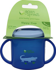 Sippy Cup Blue <p><b>From the manufacturer:</b></p><p>3 to 12 months</p><p>BPA Free</p><p>Flip up Spout</p><p>Easy-grip handles</p>  1 Each  $4.99