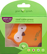Cool Calm Press-Owl <p><strong>From the manufacturer:</strong></p><p>Safe cold therapy for bumps and bruises</p><p>Reusable</p><p>Flexible when frozen</p><p>Non-toxic, PVC free & BPA free</p> 1 Each  $4.99