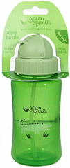 Aqua Bottle Green <p><b>From the manufacturer:</b></p><p>24 months +</p><p>BPA free</p><p>10 oz non-spill aqua bottle</p><p>Extra straw included</p><p>Interchangeable</p>  1 Each  $5.99