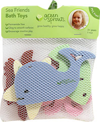 Sea Friends Bath Toy <p><strong>From the manufacturer:</strong></p><p>PVC Free</p><p>Formamide free</p><p>Cling to smooth surfaces</p><p>Encourage creative play</p> 1 Each  $4.99