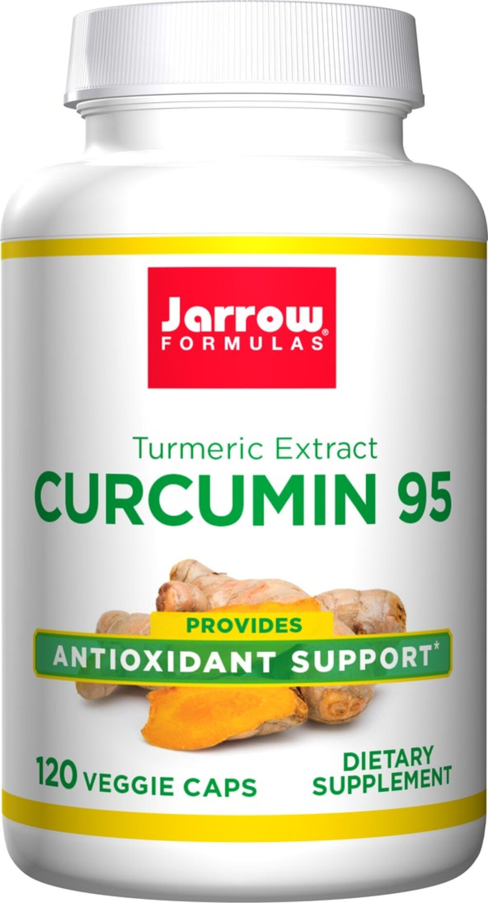 Curcumin 95™ 500 mg <p><strong>From the Manufacturer's Label:</strong></p><p>Curcumin 95™ is a concentrate of 95% curcuminoids, which are powerful antioxidants found in the spice turmeric root. </p><p>Manufactured by Jarrow Formulas</p><p></p> 120 Capsules 500 mg $29.99