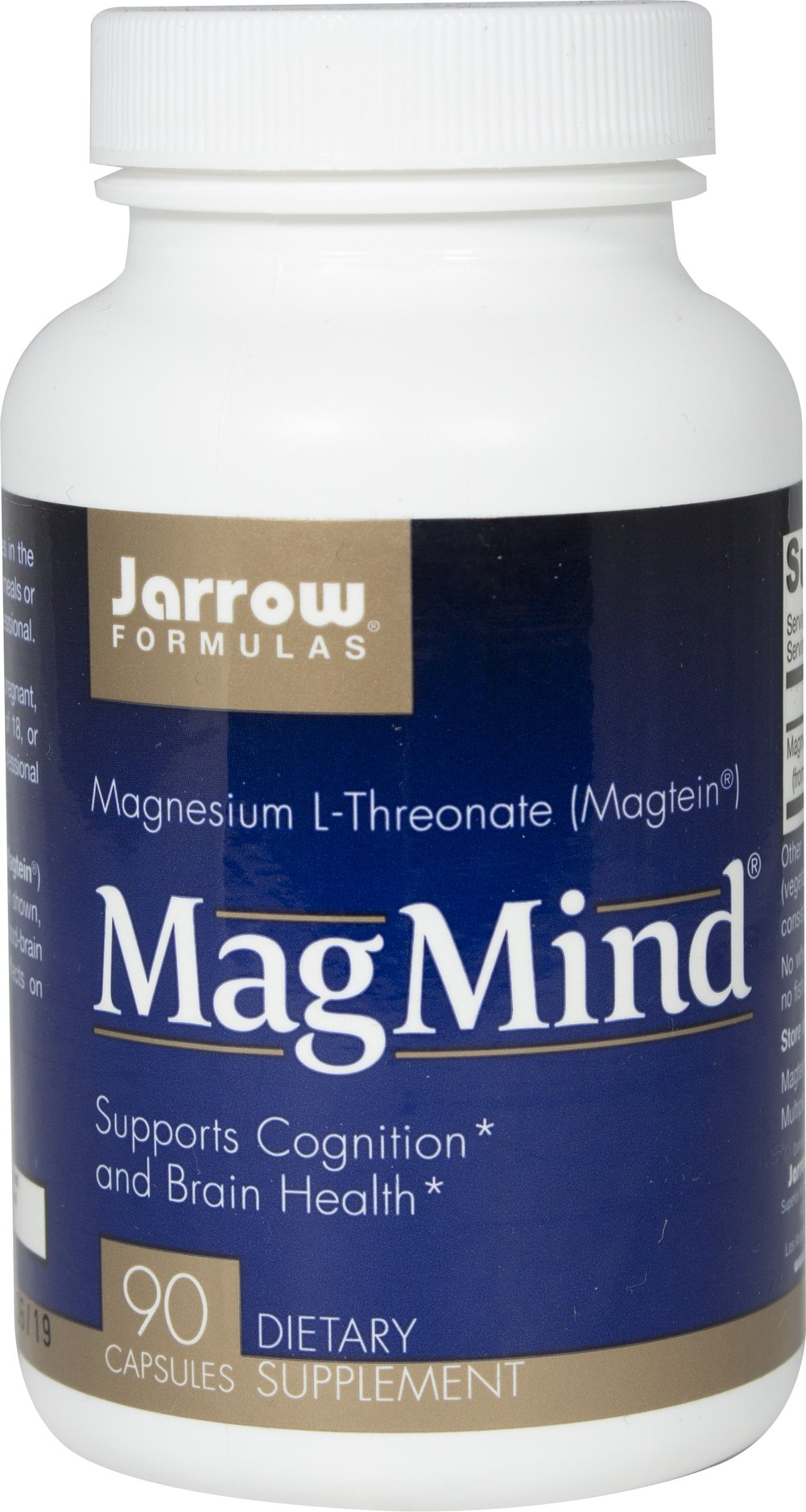MagMind™ Magnesium L-Threonate We are proud to bring you MagMind™ Magnesium L-Threonate from Jarrow. Look to Puritan's Pride for high quality national brands at the best possible prices. 90 Vegi Caps  $27.27