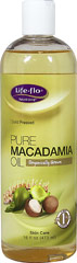 Pure Macadamia Oil <p><strong>From the Manufacturer's Label</strong></p><p>Pure Macadamia Oil is truly a versatile oil with numerous benefits from culinary to cosmetics.  It has a light, rich golden color with a delicate scent.  It contains some of the highest levels of Palmitoleic acid of any of the plant oils, making it ideal for dry and mature skin.  It is also light, non-greasy, and easily absorbable.  Cold pressed and food grade.</p><p>Manufactu