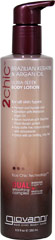 2chic™ Ultra-Sleek Body Lotion with Brazilian Keratin & Argan Oil <p><b>From the Manufacturer's Label:</b></p> <p>For all skin types</p> <p>- Pamper and Hydrate Skin</p> <p>- Condition with Moroccan Argan Oil</p> <p>- Retain Moisture with Brazilian Phyto-Keratin Protein</p> <p>- Help Battle Free Radical Damage with Antioxidants</p> <p>- Entice with an Inviting, Silky Feel</p> <p>Wrap you