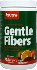 Gentle Fibers® <p><b>From the manufacturer:</b></p><p>Soluble & Insoluble fibers</p><p>Promotes bowel regularity and cardiovascular health**</p><p>Gentle Fibers® provides high-quality fibers and lignans that promote cardiovascular and immune health along with good digestion and proper elimination**</p>  16.5 oz Powder  $9.99