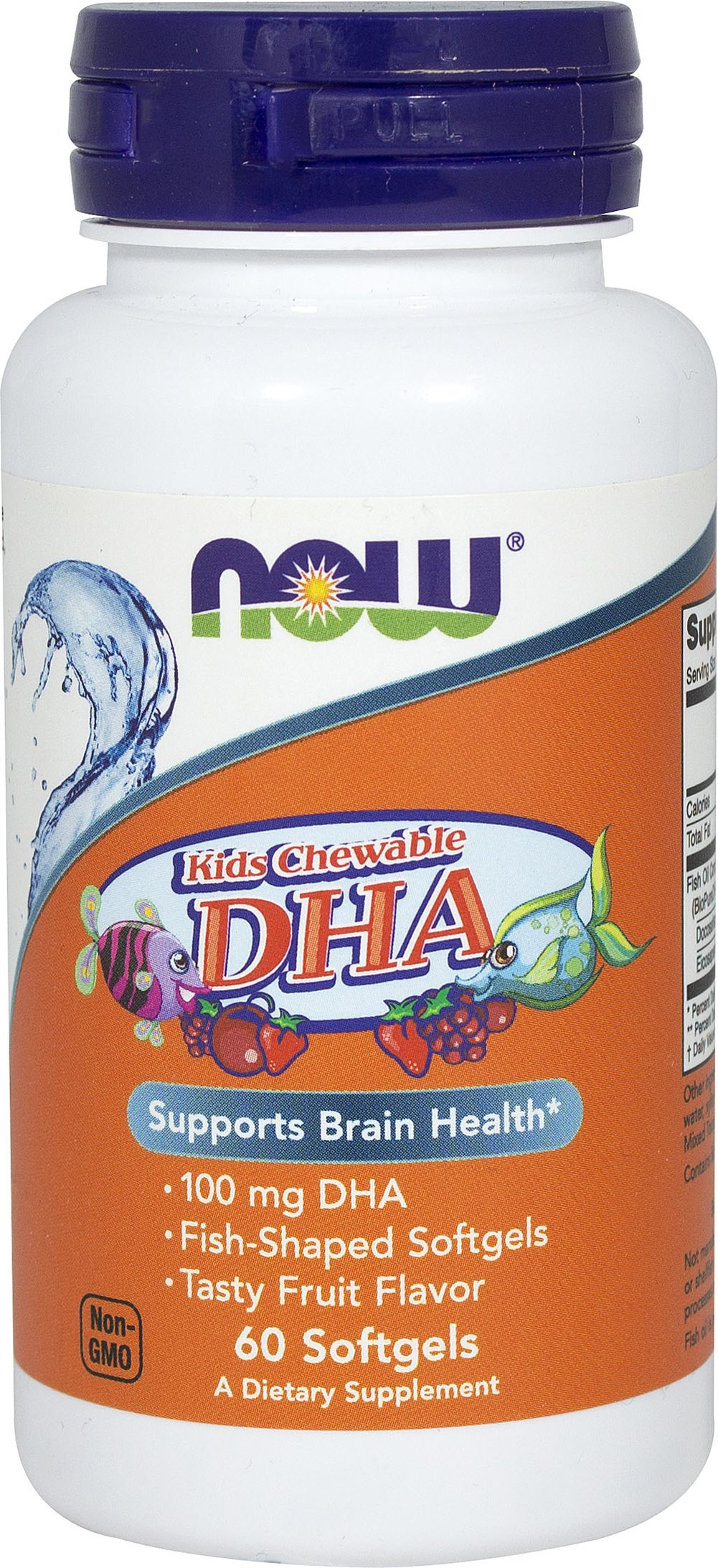 Kids Chewable DHA  60 Softgels