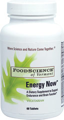 Energy Now  60 Tablets  $9.99