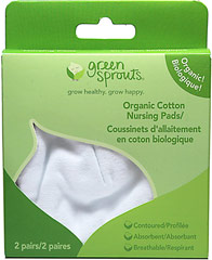 Organic Cotton Nursing Pads <p><strong>From the manufacturer:</strong></p><p>Soft & absorbent organic cotton flannel</p><p>Hypoallergenic & chemical-free</p><p>Protects clothing & prevents leakage</p> 2 Pack  $6.99