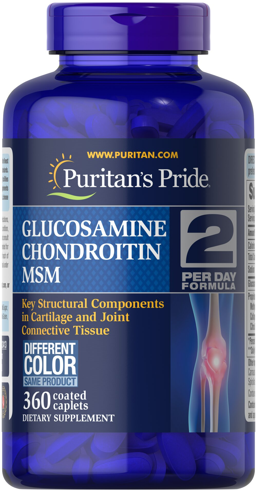Triple Strength Glucosamine, Chondroitin & MSM Joint Soother®  360 Caplets  $75.99