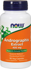 Andrographis Extract 400 mg Andrographis is an herb traditionally used by herbalists in China, India, and Southern Asia. 90 Vegi Caps 400 mg $8.99