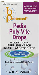 Pedia Poly-Vite Drops <p><strong>From the manufacturer:</strong></p><p>Multivitamin supplement for infants and toddlers</p><p>Alcohol & sugar free</p><p>Delicious natural fruit flavor</p> 50 ml Liquid  $6.99