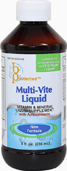 Multi-Vite Liquid <p><strong>From the manufacturer:</strong></p><p>Vitamin & mineral liquid supplement with Antioxidants</p><p>Compare to vitamins/minerals in Centrum® Liquid*</p><p>*Bayshore Pharmaceuticals is not affiliated with the owner of the trademark Centrum® Liquid</p> 8 fl oz Liquid  $7.99