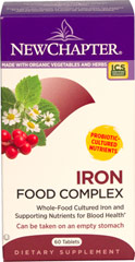 "IRON FOOD COMPLEX <table border=""0"" cellpadding=""0"" cellspacing=""0"" width=""511""><colgroup><col width=""511"" /></colgroup><tbody><tr height=""20""><td height=""20"" style=""height:15.0pt;width:383pt;"" width=""511""><p><strong>From the manufacturer: </strong></p><p><strong></strong><strong></strong>Whole-food comp"
