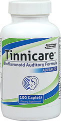 "Tinnicare™ Bioflavonoid Auditory Formula Advanced <table border=""0"" cellPadding=""0"" cellSpacing=""0"" width=""411""><colgroup><col width=""411"" /></colgroup><tbody><tr height=""90""><td class=""xl109"" height=""90"" style=""width:308pt;height:67.5pt;"" width=""411""><p><strong>From the Manufacturer's label</strong></p><p>Tinnicare™ is sp"