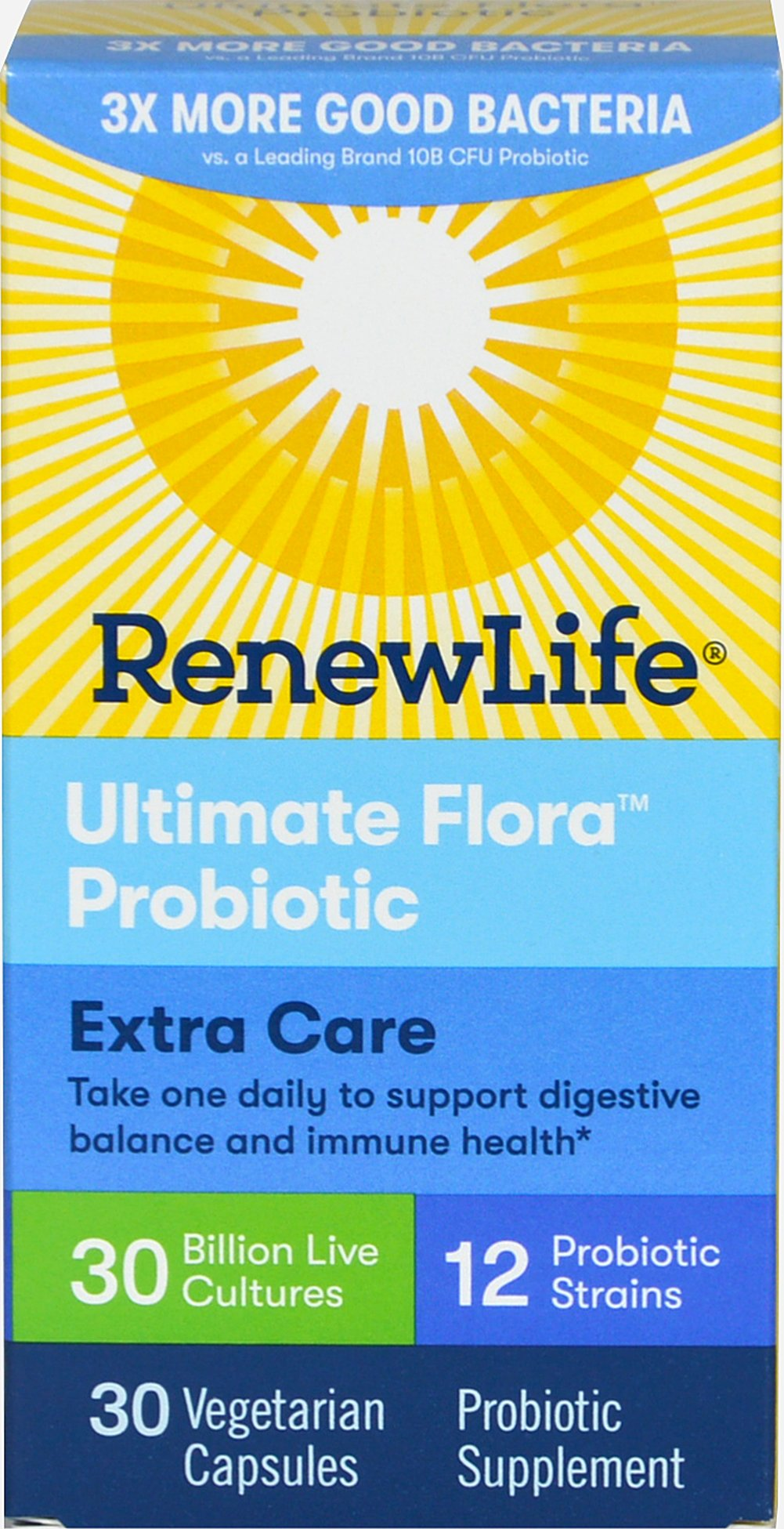 Ultimate Flora Extra Care 30 billion  30 Capsules 30 billion
