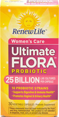 "Ultimate Flora Women's Care <table border=""0"" cellpadding=""0"" cellspacing=""0"" width=""511""><colgroup><col width=""511"" /></colgroup><tbody><tr height=""20""><td height=""20"" style=""height:15.0pt;width:383pt;"" width=""511""><p><strong>From  the manufacturer:</strong></p><p>Promotes healthy yeast balance**</p><p>Promotes vaginal"