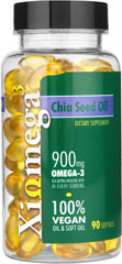 Chia Seed Oil  90 Softgels  $12.99