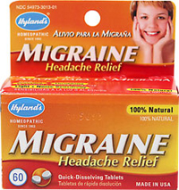 Migraine Headache Relief  60 Tablets  $5.99
