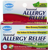 "Seasonal Allergy Relief <table border=""0"" cellpadding=""0"" cellspacing=""0"" height=""90"" width=""681""><colgroup><col width=""391"" /></colgroup><tbody><tr height=""60""><td height=""60"" style=""height:45.0pt;width:293pt;"" width=""391"">We are proud to bring you Seasonal Allergy Relief from Hyland's. Look   to Puritan's Pride for high-quality national brands an"
