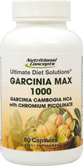 Garcinia Cambogia HCA Max 1000 with Chromium Picolinate  We are proud to bring you Garcinia Cambogia HCA Max 1000 with Chromium Picolinate.  Look to  Puritan's Pride for high quality products and great nutrition at the best possible prices. 60 Capsules