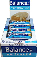 Yogurt Honey Peanut Balance Bar <p><strong>From the Manufacturer's Label:</strong></p><p>We've taken the honey peanut you've grown to love – and added a  great-tasting yogurt-flavored coating. It brings protein-packed  nutrition to every delicious bite. A delicious, yogurt-flavored coating  keeps all the wholesome ingredients together in one tasty bar. It's  packed with the kind of nutrition you can see – and certainly can taste!</p><p>•