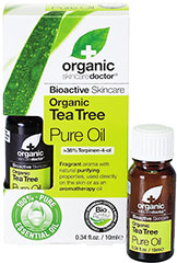Tea Tree Pure Oil <strong>From Manufacturer's Label:</strong><br /><br />Organic Doctor® Tea Tree Pure Oil - Fragrant aroma with natural purifying properties, used directly on the skin or as an aromatherapy oil.<br /><br />Bioactive organic Tea Tree oil is renowned for its powerful invigorating properties. This pure oil has been used for centuries by the indigenous population of Australia for its numerous beneficial attributes. It is a celebrated oil