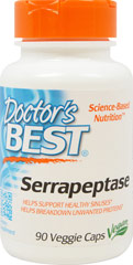 Best Serrapeptase  90 Vegi Caps  $13.99