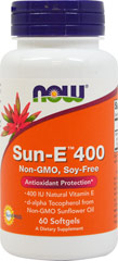 Sun-E 400  60 Softgels  $15.99