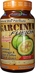 Garcinia Fusion Garcinia & Green Coffee Bean <p><strong>From the Manufacturer's Label:</strong></p><p>Nutri-Fusion Systems brings you Garcinia Fusion, infused with Garcinia Cambogia, Green Coffee Bean Extract, GCA®, and Caralluma Fimbriata.  Green coffee beans contain a special component called Chlorogenic Acid.</p><p>Manufactued by Nutri-Fusion Systems</p> 90 Vegi Caps  $19.99