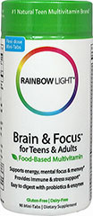 Brain & Focus Multivitamin  90 Tablets  $19.99