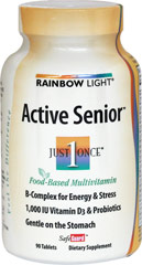 Active Senior Multi  90 Tablets  $26.99