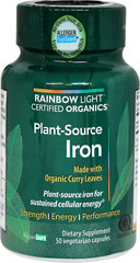 Plant-Source Iron  50 Capsules  $19.99