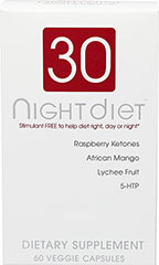 "30 Night Diet™ <br /><span class=""t-marker""></span><span class=""t-marker""></span><span class=""t-marker""></span><span class=""t-marker""></span><span class=""t-marker""></span><span class=""t-marker""></span><span class=""t-marker""></span><span class=""t-marker""></span><span class=""t-marker""></span> 60 V"
