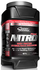 Nitro Peak Protein Vanilla <strong>From the Manufacturer's Label:</strong><br /><br />Nitro Peak Protein is manufactured by Inner Armour®. 4 lbs Powder  $39.99