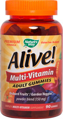 Alive Adult Multi Gummy  90 Gummies