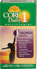 Core Daily Women 50+ Multivitamin  60 Tablets  $18.99