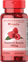 Raspberry Ketones 500 mg Our Raspberry Ketones are highly concentrated.  Each serving of this dietary supplement contains 500mg of raspberry ketones. <br /><ul><li>Concentrated Source of Raspberry Ketones</li><li>500 mg in one serving</li><li>Rapid Release Capsules</li></ul> 120 Capsules 500 mg $51.49