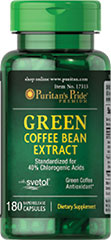 Green Coffee Bean Extract with SVETOL® 400 mg Green Coffee Bean contains antioxidant properties.**<br /><br />Each serving contains 400mg of SVETOL® green coffee bean extract and 120mg of Yerba Mate extract<br /><br />SVETOL® is the plant extract from fresh green coffee beans that have not been roasted<br /><br />Specialized combination of all-natural Svetol® and Yerba Mate<br /><br />Green Coffee Bean Extract available in rapid