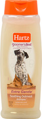 Groomer's Best Oatmeal Shampoo <p><strong>From the Manufacturer: </strong></p><p>Hartz Groomer's Best Oatmeal Shampoo for Dogs cleans and calms irritated skin with a gentle, creamy Buttermilk Scent formula. Moisturizers and protein conditioners leave a soft, silky coat.</p> 18 oz Shampoo  $7.99