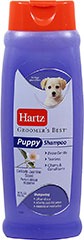 Groomer's Best Puppy Shampoo <p><strong>From the Manufacturer: </strong></p><p>Hartz Groomer's Best Puppy Shampoo is specifically formulated to clean and moisturize puppy's delicate skin and coat. Mild and tearless shampoo will not irritate puppy's eyes.</p> 18 oz Shampoo  $7.99